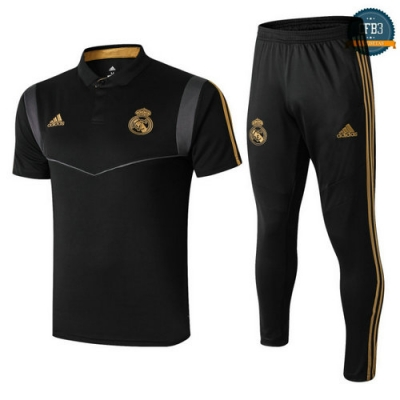 Cfb3 Camisetas Polo + Pantalones Real Madrid 2019/20
