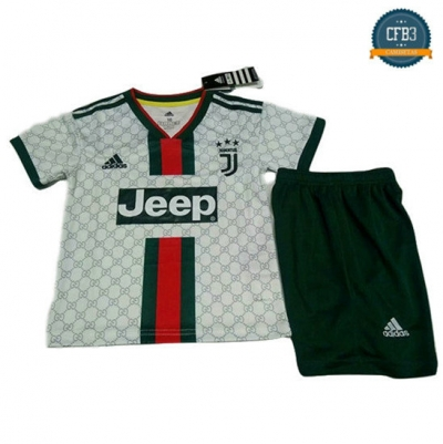 Camiseta Juventus Niños Version Fuite Blanco 2019/2020