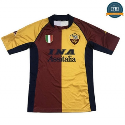 Camiseta Retro 2001-02 AS Roma 1ª