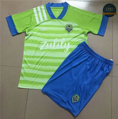 Cfb3 Camiseta Seattle Sounders Niños 1ª 2020/2021