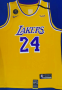 Kobe Bryant, Los Angeles Lakers #8 Yellow-KB standard