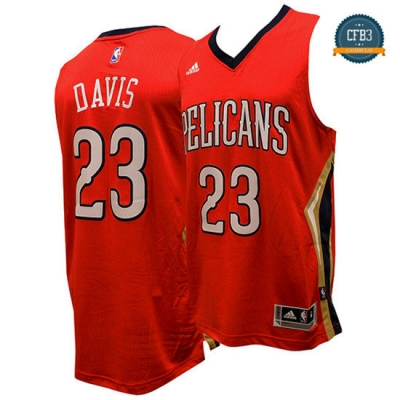 cfb3 camisetas Anthony Davis, New Orleans Pelicans - Alternate