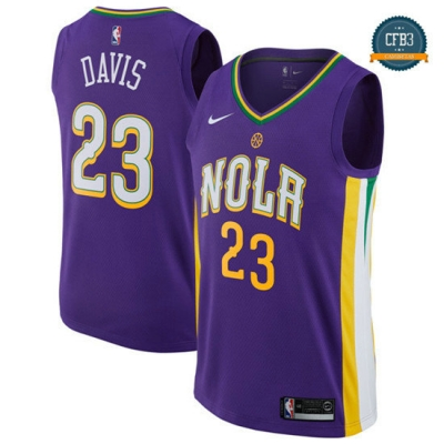 cfb3 camisetas Anthony Davis, New Orleans Pelicans - City Edition