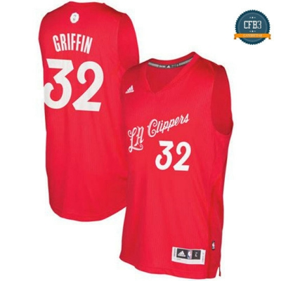 cfb3 camisetas Blake Griffin, Los Angeles Clippers - Christmas '17