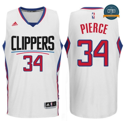 cfb3 camisetas Chris Paul, Los Angeles Clippers 2015 - Blanco