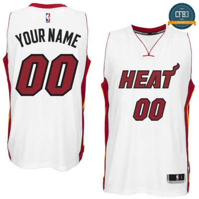 cfb3 camisetas Custom, Miami Heat [Primera]