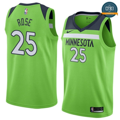 cfb3 camisetas Derrick Rose, Minnesota Timberwolves - Statement