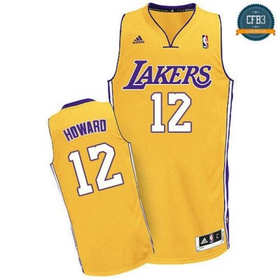 cfb3 camisetas Dwight Howard, Los Angeles Lakers [Dorada]