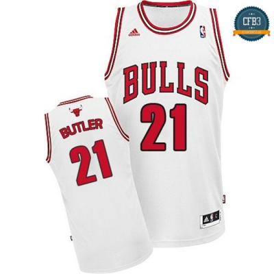 cfb3 camisetas Jimmy Butler, Chicago Bulls [Blanco]