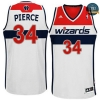 cfb3 camisetas Paul Pierce, Washington Wizards - Blanco