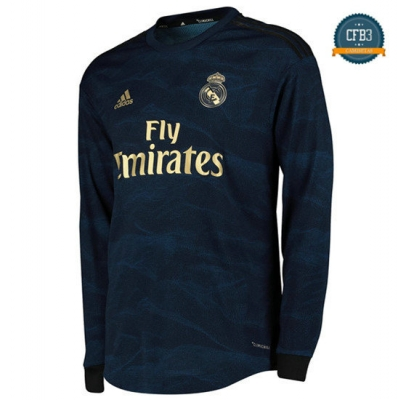 Camiseta Real Madrid 2ª Equipación Manga Larga 2019/2020