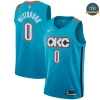 cfb3 camisetas Russell Westbrook, Oklahoma City Thunder 2018/19 - City Edition