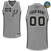 cfb3 camisetas San Antonio Spurs, Custom [Gray]