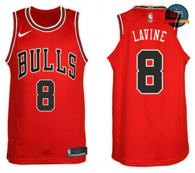 cfb3 camisetas Zach LaVine, Chicago Bulls - Icon