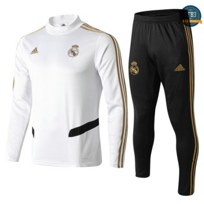 cfb3 camisetas Chándal Real Madrid Blanco 2019/20