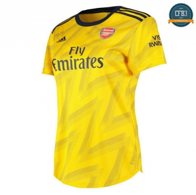 Camiseta Arsenal Womens 2ª 2019/2020