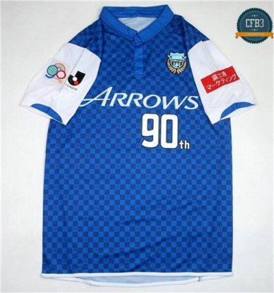 Camiseta 2014 Kawasaki Frontale 90th Anniversary Commemorative Edition