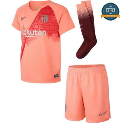 Camiseta Barcelona 3ª Equipación Junior Rose 2018