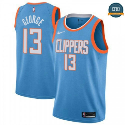 Cfb3 Camisetas Paul George, Los Angeles Clippers - City Edition