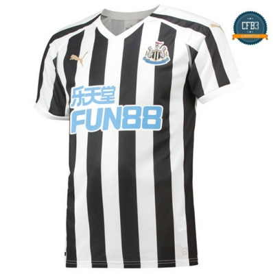 Camiseta Newcastle United 1ª Equipación Blanco/Negro 2018