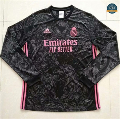 Cfb3 Camiseta Real Madrid 2ª Equipación Manga Larga 2020/2021