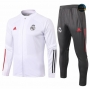 Cfb3 Chaqueta Chandal Real Madrid Blanco 2020/2021