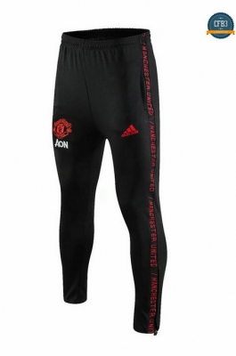 Cfb3 D216 Pantalones Manchester United Negro 2019/2020