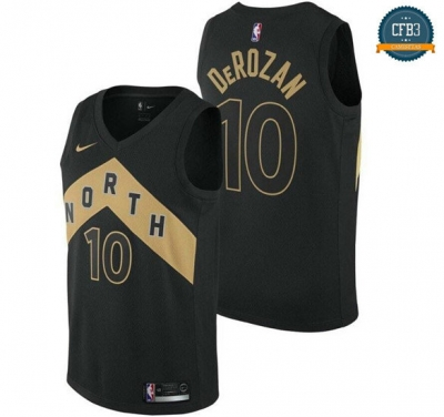 cfb3 camisetas DeMar DeRozan, Toronto Raptors - City Edition