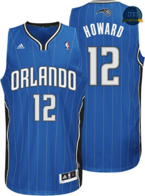 cfb3 camisetas Dwight Howard, Orlando Magic [Azul]