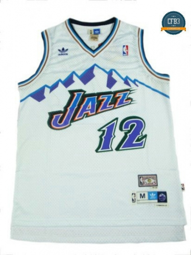 cfb3 camisetas John Stockton, Utah Jazz [Mountains]