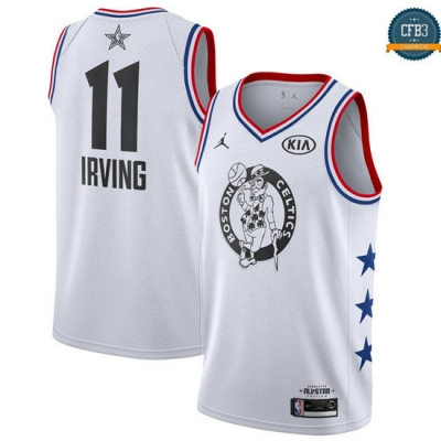 cfb3 camisetas Kyrie Irving - 2019 All-Star Blanco