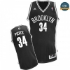 cfb3 camisetas Paul Pierce, Brooklyn Nets [Negra]