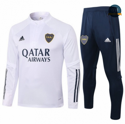Chandal Boca Juniors Blanco 2020/2021