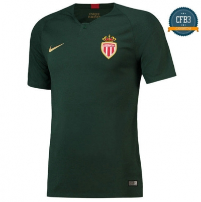 Camiseta AS Monaco 2ª Equipación 2018