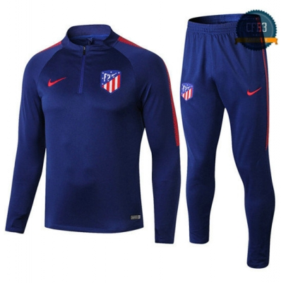 Chándal Atletico Madrid Couleur Azul 2018