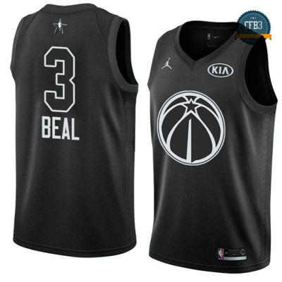 cfb3 camisetas Bradley Beal - 2018 All-Star Negro