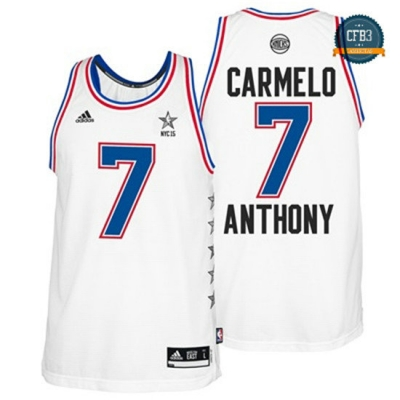 cfb3 camisetas Carmelo Anthony, All-Star 2015