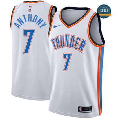 cfb3 camisetas Carmelo Anthony, Oklahoma City Thunder - Association