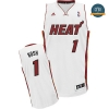 cfb3 camisetas Chris Bosh, Miami Heat [Blanco]