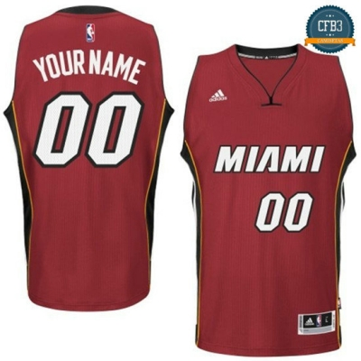 cfb3 camisetas Custom, Miami Heat [Alternate]