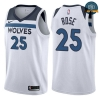 cfb3 camisetas Derrick Rose, Minnesota Timberwolves - Association