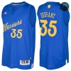 cfb3 camisetas Kevin Durant, Golden State Warriors - Christmas '17