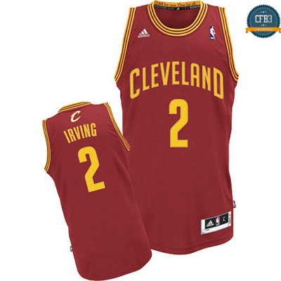 cfb3 camisetas Kyrie Irving, Cleveland Cavaliers [Roja]