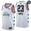 cfb3 camisetas LeBron James - 2019 All-Star Blanco