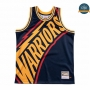 Cfb3 Camiseta Golden State Warriors - Mitchell & Ness 'Cara grande'