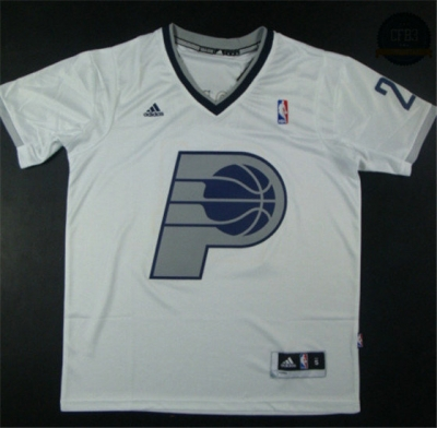 cfb3 camisetas Paul George, Indiana Pacers- Christmas