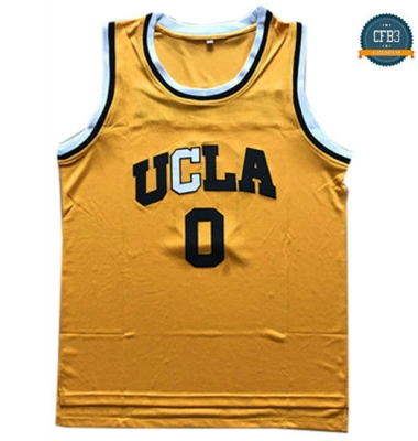 cfb3 camisetas Russell Westbrook, UCLA Bruins [Yellow]