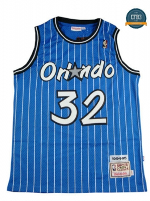cfb3 camisetas Shaquille O'Neal, Orlando Magic [Azul]