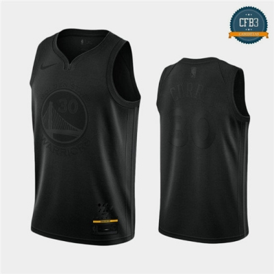cfb3 camisetas Stephen Curry, Golden State Warriors - MVP Negro