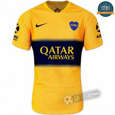 Cfb3 Camisetas Boca Juniors Amarillo 2019/2020